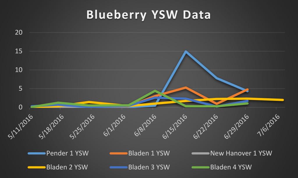 2016 blueberry ysw data