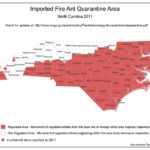 Red Imported Fire Ant Quarantine Map